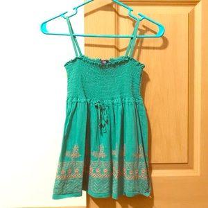 3/$15 GAP Green S Cute Flowy Summer Top